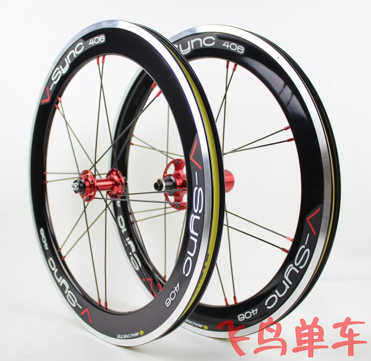 Machete 20 inch 406 451 Folding Bike wheels sp8 74 130 Bicycle Wheelset