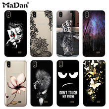 Cool Pattern Case For Prestigio Wize Q3 PSP3471 DUO Case Cover Clear Soft Silicone Phone Cover For Prestigio Wize Q3 Cover Cases
