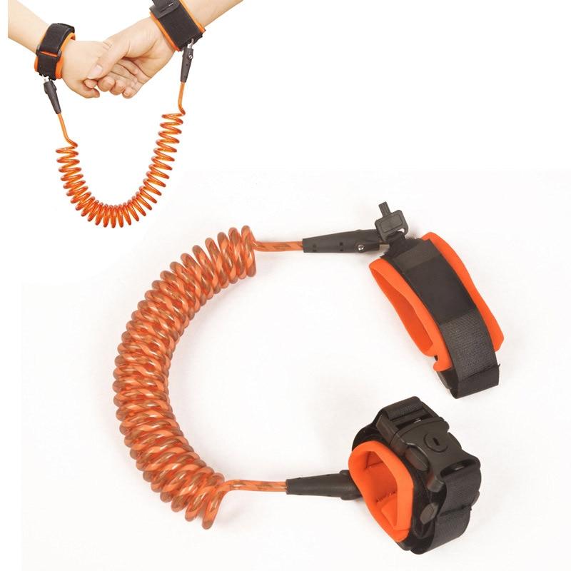 Adjustable Kids Safety Anti-lost Link Band Belt Walking Assistant Baby Walker Wristband BM88