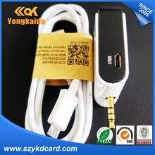 YongKaiDa Uhf Rfid Reader Smartphone 3.5mm ISO18000-6C (EPC Gen2) Audio Jack Mobile UHF RFID Reader