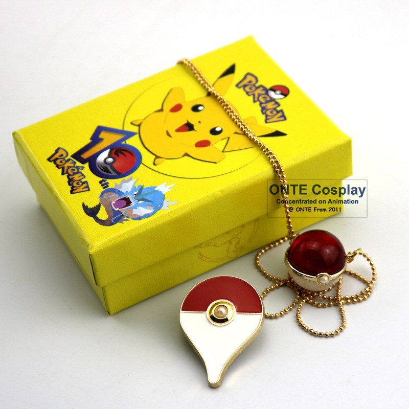 2017 Hot Games Pokemon Go Cosplay Costumes Badges + Pendants Fashion Alloy Brooch Pins for Halloween / Xmas Gift