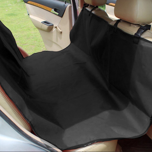 Waterproof Dog Car Seat Cover Pet Dog Seat Cover Car Rear Back Mat Anti Scratch Seat Covers Roap Trip Travel Blanket for Pets 4