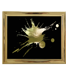 Extra large metal wall art Gold Foil Art Print Modern Wall Poster For Living Room Nordic Decoration Home