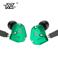 New KZ ZS6 2DD 2BA Hybrid In Ear Earphone HIFI DJ Monito Running Sport Earphone Earplug