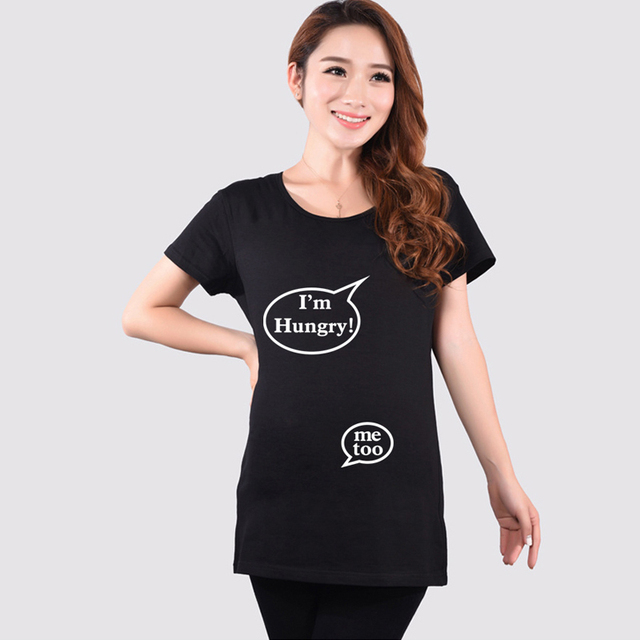 Buy Summer Hot Sale Black Maternity Funny
