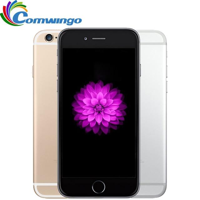 Original Unlocked Apple iPhone 6 1GB RAM 16/64/128GB ROM 4.7inch IOS Dual Core 8PM GSM WCDMA LTE iPhone6 Used Mobile Phone