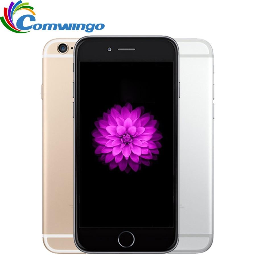 Original Unlocked Apple iPhone 6 1GB RAM 16/64/128GB ROM 4.7'inch IOS Dual Core 8PM GSM WCDMA LTE iPhone6 Used Mobile Phone