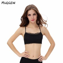 MUQGEW Hot sale Women Lace Strap Backless Wrapped Chest Shirt Tank Crop Top New Sexy Lingerie