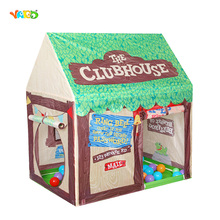 Foldable Play Tent Kids Children Boy Girl Castle Cubby Play House Bithday Christmas Gifts Outdoor Indoor Toy Tents