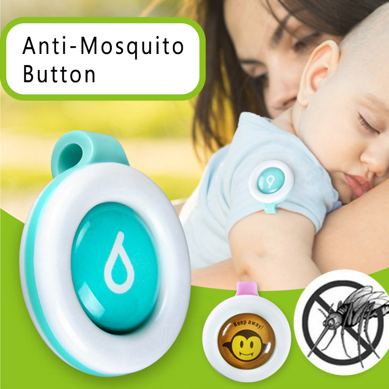 1pcs Anti-Mosquito Buckle Waterproof Incense Repellent Guard Mosquito Sticker Killer Safe For Baby Children Kids Mosquito Clips