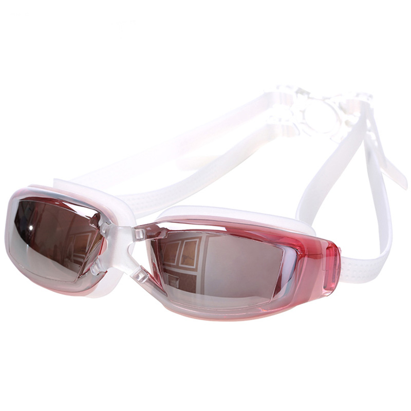 Professional Swimming Eyewear Adult Waterproof Anti-Fog UV Protect HD Swimming Goggles Swim Glasses TX005