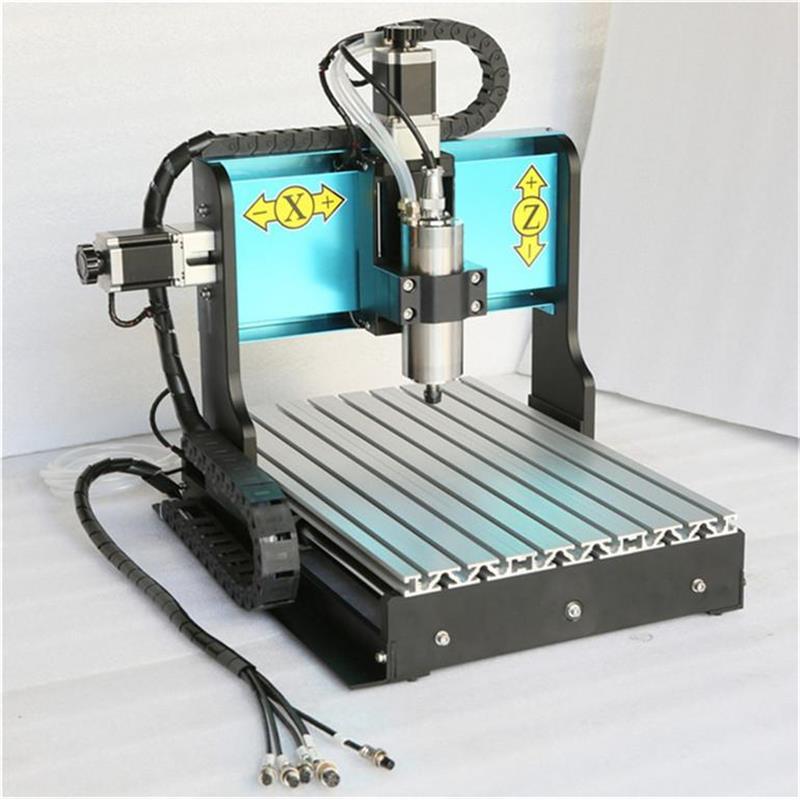 JFT industriel Mini graver 3040 Table gravure Machine petit Mach 3 CNC routeur pour le métal - 4
