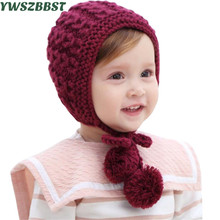 2017 New Baby Hats for Girls Boys Newborn Warm Hats Baby Winter Hats Bonnet Toddler Infant Hat Photo Photography Baby Caps цена в Москве и Питере