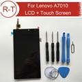 Para lenovo a7010 display lcd + touch screen substituição digitador para lenovo k4 note 1920x1080 fhd 5.5 polegada frete grátis + ferramentas