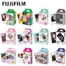 Fujifilm instax mini filme opcional photo frame 10-100 folha de papel de foto para instax mini 11 9 instantânea 70 90 liplay filme câmera