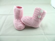f116314e2 حرية الملاحة ، حذاء طفل اليدوية الكروشيه الرضع الصنادل طفل/الأولى المشي  أحذية المشي أحذية خفيفة الوردي. US $4.16 / قطعة شحن مجاني