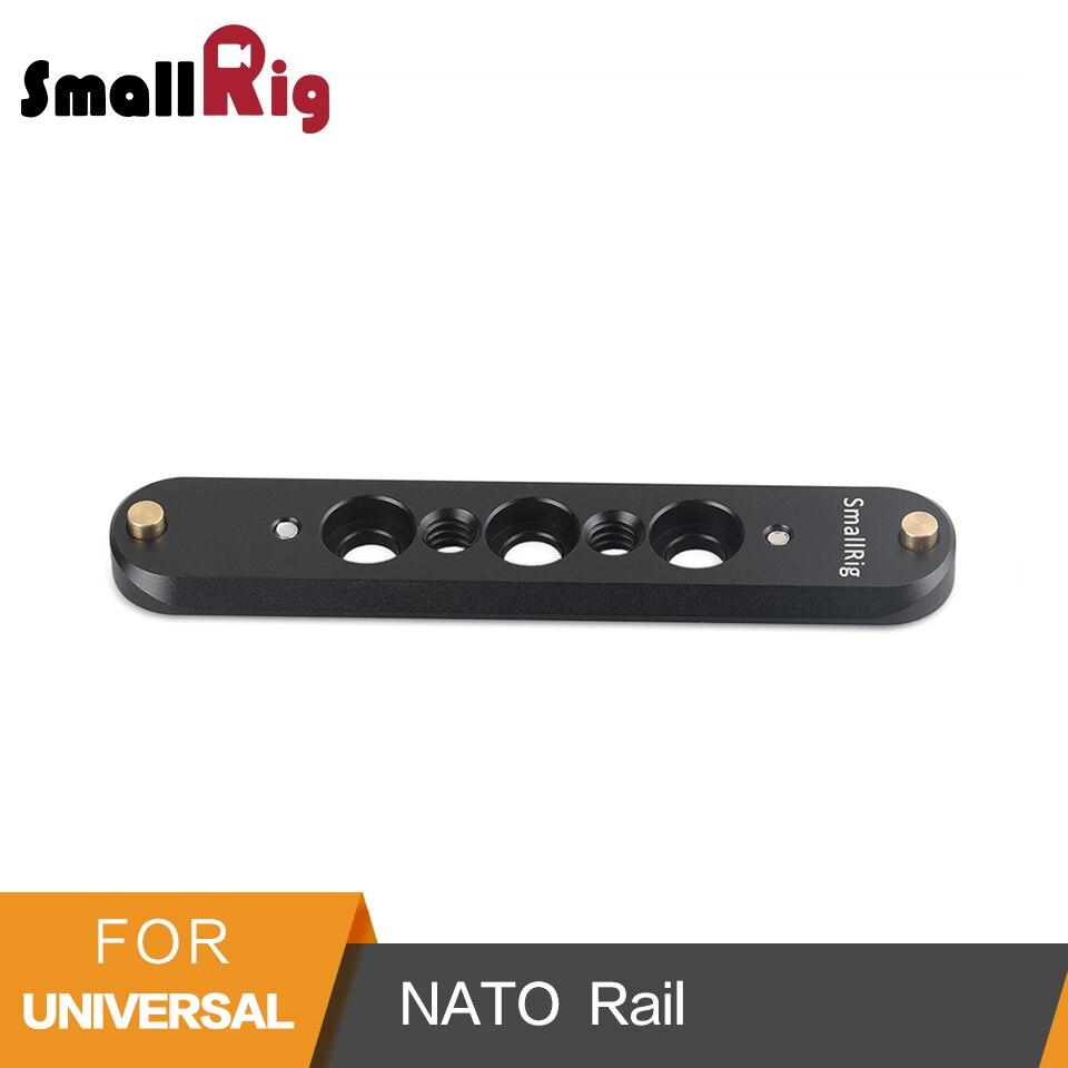 SmallRig Segurança NATO Ferroviário 93mm Alça Longa para A Nato Gaiola Câmera EVF Montagem Do Monitor-1933