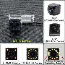 Full HD 12LED динамическая траектория заднего вида камера для peugeot 301 308 405 508 C4 C5 3008 307 хэтчбек Citroen E-Elysee C-Quatre
