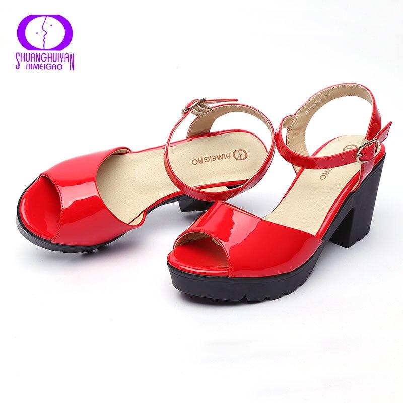 ... на высоком каблуке с круглым открытым носком модные, с ремешком с  пряжкой Босоножки для Для женщин   Женские сандали с Алиэкспресс   Отзывы  покупателей 615624313c0