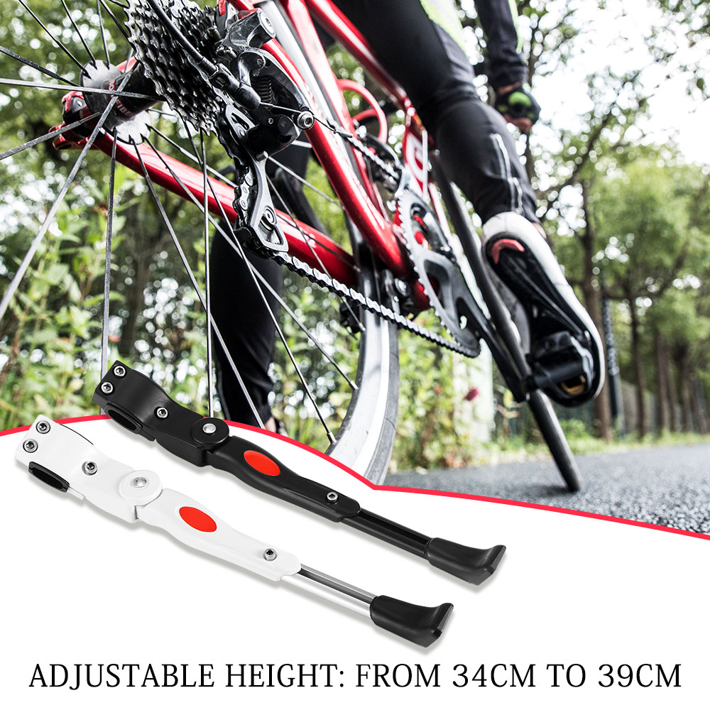 Alloy Adjustable Kick Stand Side Foot with Rubber For Bike Cycling Bicycle zas