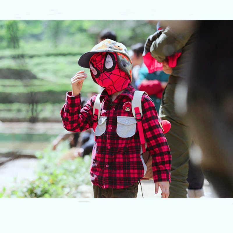 Homem aranha legal cosplay trajes lycra máscara de super-herói lentes