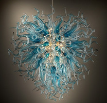 High Quality Tiffany Stained Glass Chandelier for House Decoration Elegant Lampshape