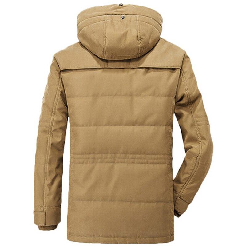 겨울 자켓 남자 두꺼운 따뜻한 군사 코튼 패딩 자켓 남자 후드 윈드 파커 파카 플러스 사이즈 5xl 6xl 코트-에서재킷부터 남성 의류 의  그룹 3