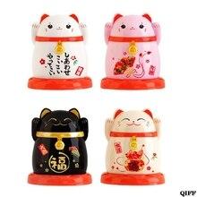 Японский держатель для зубочисток в форме кошек Jun12