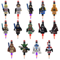 14PCS The Avengers Star Wars Legos Super Hero Cartoon Pen Pencil Accessories Cap Thor Pen Topper Charm Fashion Jewelry Kids Gift