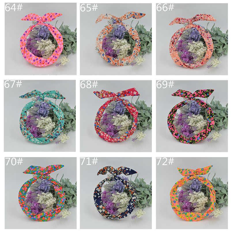 Новые корейские девушки узор кролик лента с ушками головной убор ободок из металла шарф-повязка оголовье Для женщин украшения для волос оголовье