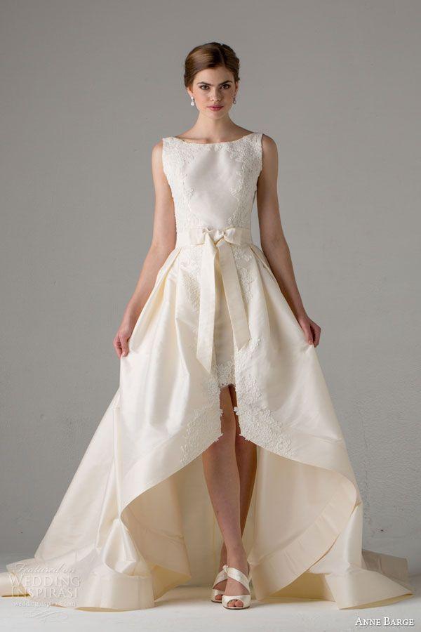 Bateau Neck Hi Lo Detachable Tail Wedding Dresses 2015 Vintage Short Front Long Back Bridal Gown Dresse Dress Petticoatsdresses Pink Aliexpress