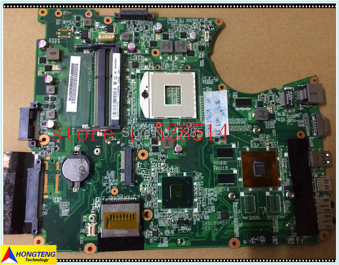 Laptop motherboard for Toshiba Satellite L750 L755 MAINBOARD A000081450 DABLBDMB8E0 100% tested OK  motherboard for toshiba satellite t130 mainboard a000061400 31bu3mb00b0 bu3 100% tsted good