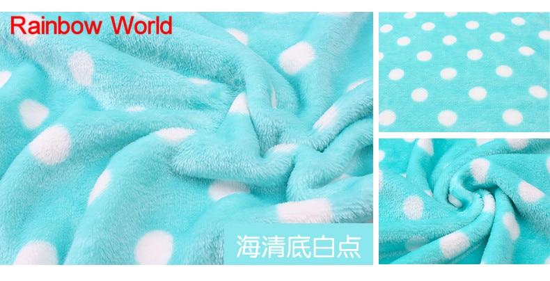 Print Blue Dot Microfiber Blue Fabric High Quality Super