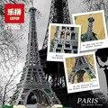 EN EL Envío Libre COMÚN Nueva LEPIN 17002 3478 unids La Torre Eiffel Modelo Kits de Construcción de Ladrillo Juguetes Compatible 10181 de Navidad regalo