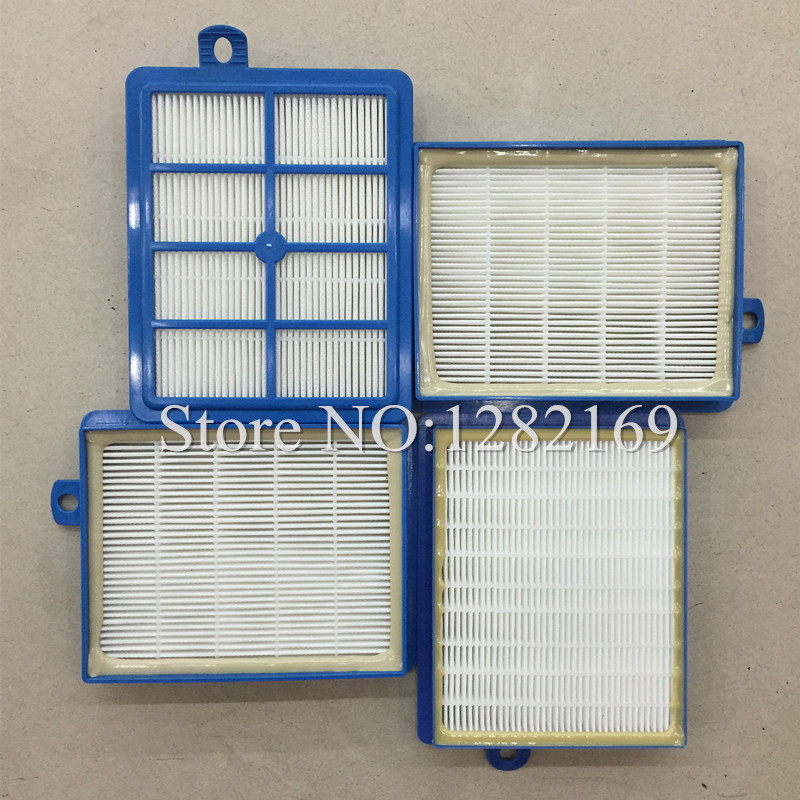 4 pieces/lot Vacuum Cleaner Parts Air Filter Hepa 13 Replacement for Philip S-filter FC9250 FC9300 FC9150 FC 8038/01 аксессуар philips fc 8038 фильтр hepa 13