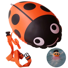 Safety Thickening gas nozzle double balloon swim floats equipment swimming pool floating lifesaving ball inflatable bags