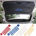 Nuevo y Fresco De Aluminio tubo de Escape de Automóviles Puerta Interior de Vehículo Emblema de la Etiqueta Engomada del Logotipo de Jeep Renegade 2015 up