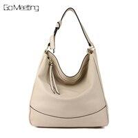 Go Meetting Women S Shoulder Bag High Quality PU Leather Handbag Woman Hobos Bags Bolsas Femininas