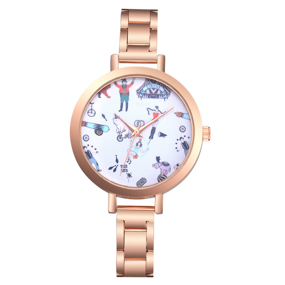 Women Watch 2018 New Luxury Brand Women's Watch Steel Belt Quartz Wrist Watch Clock Relogio Feminino Drop Shipping