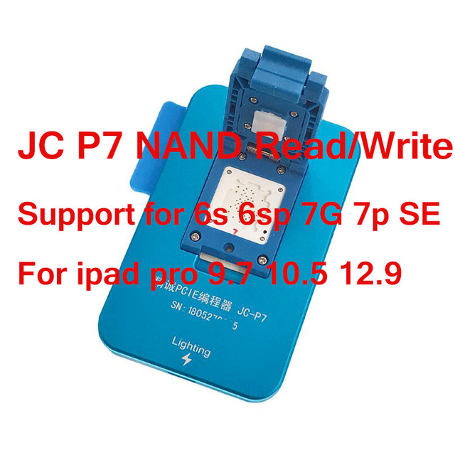 For JC Pro1000S JC P7 PCIE NAND Programmer HDD SN Read Write Tool For iPhone 7 7plus  6S 6SPlus for iPad pro all models