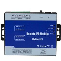 Moduł akwizycji danych analogowych Modbus 8 wejść obsługuje 0/4 ~ 20mA 0 5/10 VDC intergraded do serwera SCADA OPC HMI M330 na