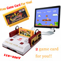 New D99 Subor Nostalgic Original Video Games Console Player with Free 400 Games Play Card Original Family TV Game Player