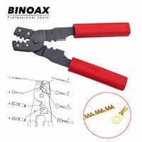 Binoax 4 in 1 Multi Funzionale HS-202B Portatile a Mano Attrezzo di Piegatura Della Pinza Terminali Crimpper