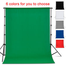 Photo Photography Backdrop Collapsible Polyester Cotton Green Screen Background Cloth For Photo Studio Video(China)