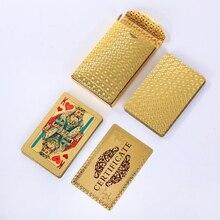 36 шт. Россия стиль-01 золотые игральные карты водостойкий креативный подарок покер карты пластик Прочный и diamon стандартные игровые карты