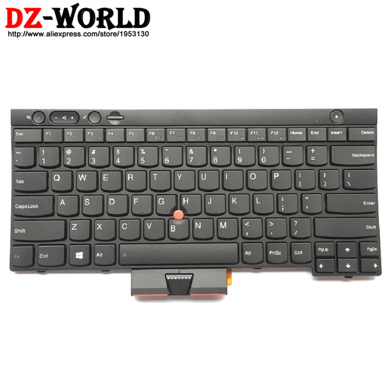 цена New Original US English Keyboard for Lenovo Thinkpad L430 T430 T430i T430S Teclado 04X1315 04X1201 04X1277 0C01997