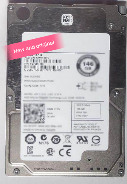 100%New In box  3 year warranty   15K.3 ST9146853SS 146G 15K SAS 2.5  Need more angles photos, please contact me100%New In box  3 year warranty   15K.3 ST9146853SS 146G 15K SAS 2.5  Need more angles photos, please contact me