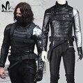 Winter Soldier costume adult James Buchanan Barnes Cosplay Costume Captain America 2 Superhero Winter Soldier Cosplay Costume