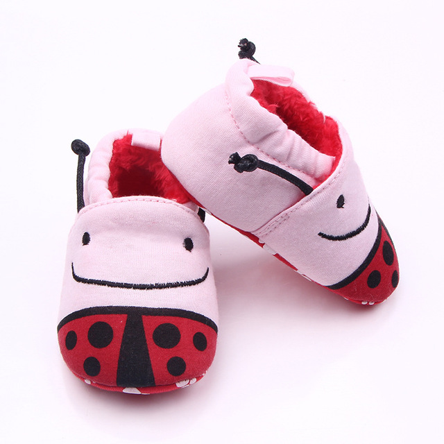 Baby boy/girls soft sole baby toddler booties newborn toddlers kid cozy crib shoes