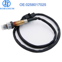 0258017025 Oxygen Sensor Air Fuel Ratio Sensor 5 Wire LSF 4.9 Wideband 30 2004 LSU 4.9 17025 258017025 For VW Skoda Audi